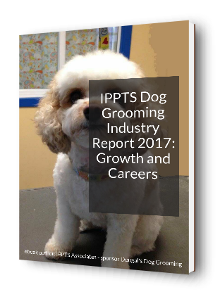 3D cover image for the Report - IPPTS Dog Grooming Industry Report 2017: Growth and Careers